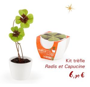 Kit trèfle Radis et Capucine