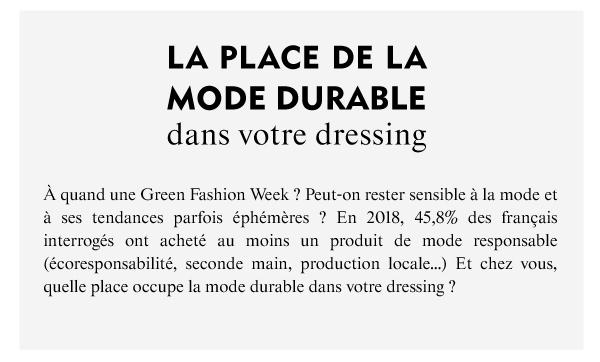 Altermundi - La place de la mode durable dans votre dressing