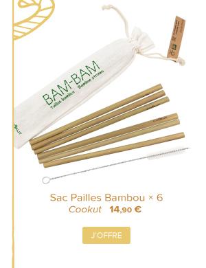 Sac Pailles Bambou | Cookut