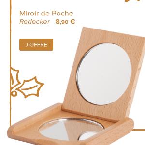 Miroir de Poche | Redecker